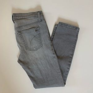 Joe's Jeans Straight Ankle 28 Gray